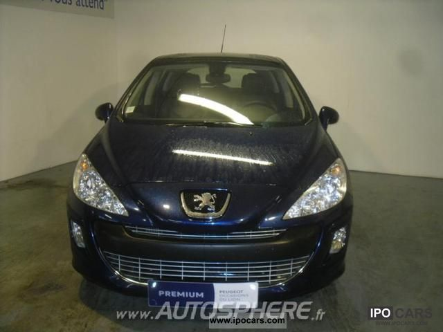 2008 peugeot 308 1 6 feline hdi110 fap 5p car photo and specs. Black Bedroom Furniture Sets. Home Design Ideas