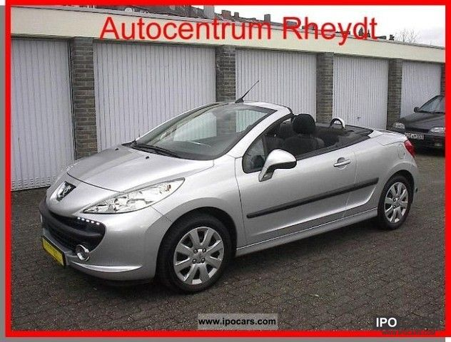 Peugeot  207 CC 1.6 16V VTi 120 / LPG / Air / PDC / 2008 Liquefied Petroleum Gas Cars (LPG, GPL, propane) photo
