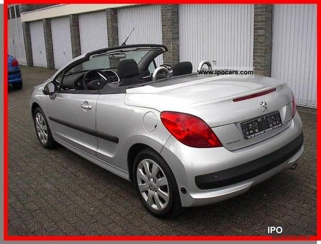 2008 peugeot 207 cc 1 6 16v vti 120 lpg air pdc car photo and specs. Black Bedroom Furniture Sets. Home Design Ideas