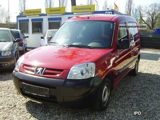2006 Peugeot  Partner HDi 75 190 C Van / Minibus Used vehicle photo