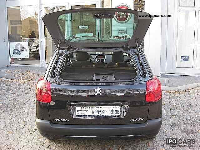 2009 peugeot 207 1 4 16v vti 95 sw tendance car photo and specs. Black Bedroom Furniture Sets. Home Design Ideas