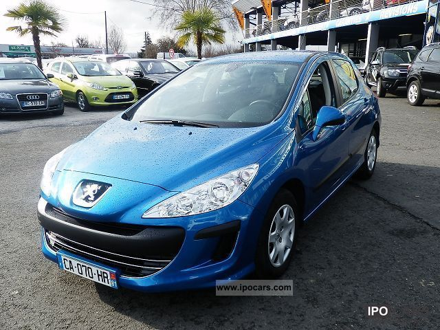 2008 peugeot 308 1 6 hdi 92 comfort pack 5p car photo and specs. Black Bedroom Furniture Sets. Home Design Ideas