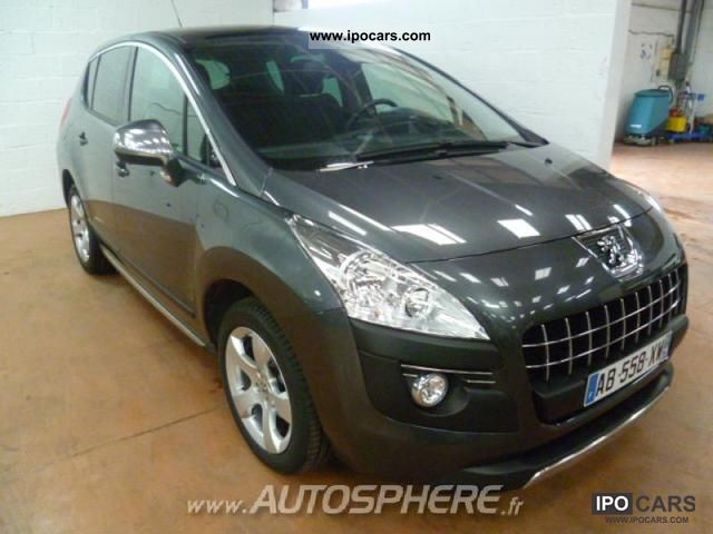 2009 peugeot 3008 1 6 premium pack fap hdi110 car photo and specs. Black Bedroom Furniture Sets. Home Design Ideas