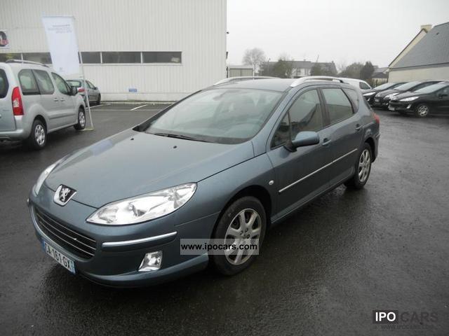 2008 Peugeot  2.0 FAP 407 premium HDi136 Estate Car Used vehicle photo