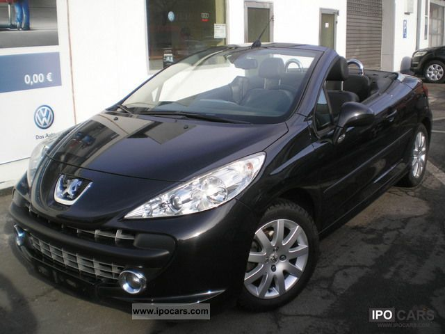 2008 peugeot platinum 207 cc 150 thp klimaautomatik car photo and specs. Black Bedroom Furniture Sets. Home Design Ideas
