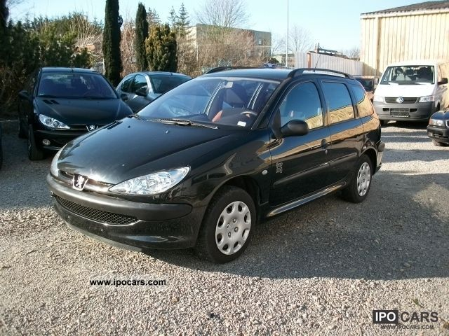 2004 peugeot 206 sw 75 pop art climate t v au12 2013 car photo and specs. Black Bedroom Furniture Sets. Home Design Ideas