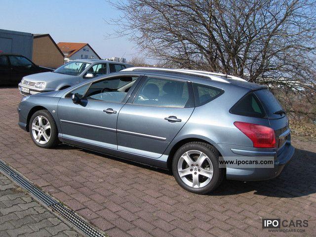 2007 Peugeot  407 SW HDi 170 Bi-Turbo Platinum, leather, ,1-hand Estate Car Used vehicle photo