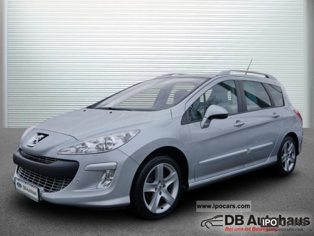 2010 peugeot 308 sw hdi fap 110 platinum klimaaut pdc gra car photo and specs. Black Bedroom Furniture Sets. Home Design Ideas