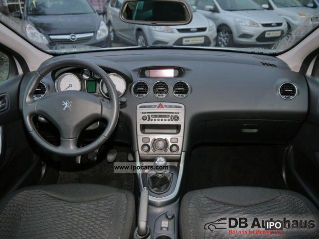 2010 peugeot 308 sw hdi fap 110 platinum klimaaut pdc gra car photo and specs. Black Bedroom Furniture Sets. Home Design Ideas