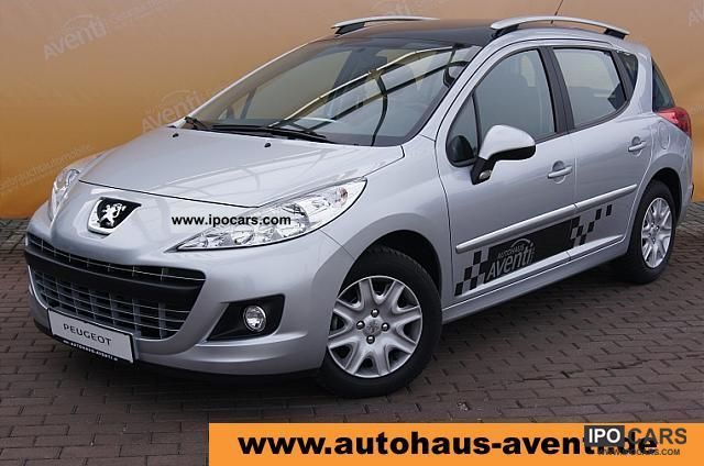 2011 peugeot 207 sw 95 tendance 1 4b 70kw car photo and specs. Black Bedroom Furniture Sets. Home Design Ideas