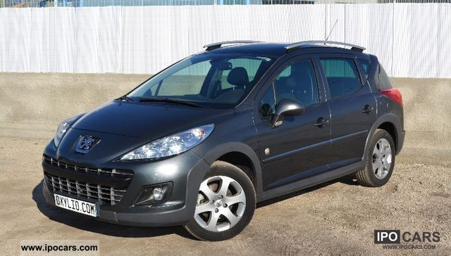 2011 peugeot 207 sw 1 6 hdi 92 pano toit outdoor bike car photo and specs. Black Bedroom Furniture Sets. Home Design Ideas