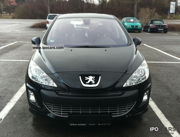 2008 peugeot 308 120 vti sport car photo and specs. Black Bedroom Furniture Sets. Home Design Ideas