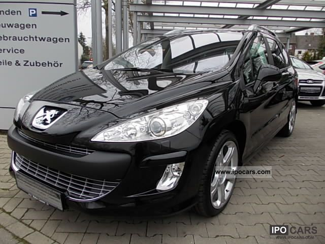 2009 peugeot 308 sw hdi fap 140 platinum car photo and specs. Black Bedroom Furniture Sets. Home Design Ideas