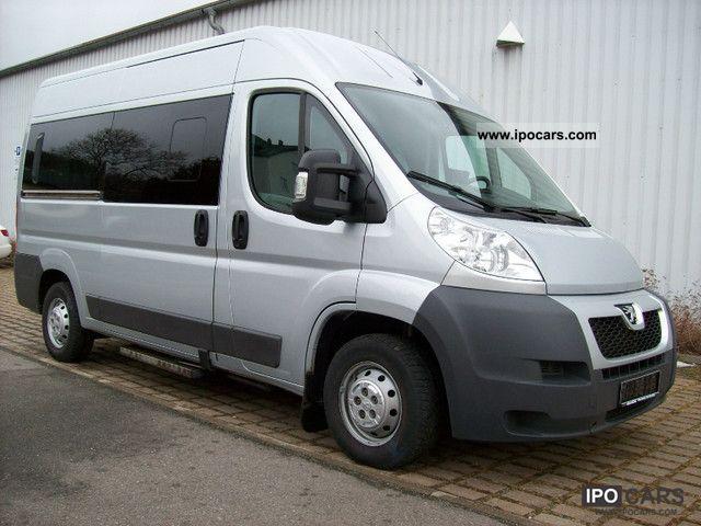 2010 Peugeot  Boxer L2H2 HDi * 333 * luxury odometer Van / Minibus Used vehicle photo