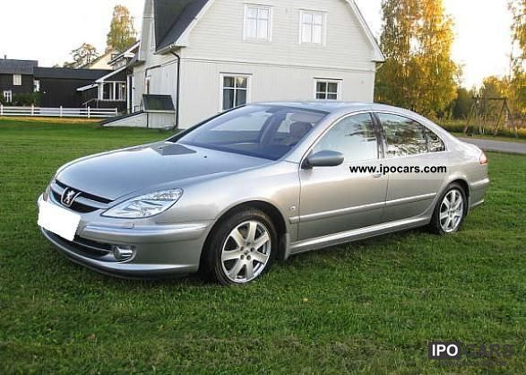 2006 peugeot 607 2 2 hdi related infomation specifications weili automotive network. Black Bedroom Furniture Sets. Home Design Ideas