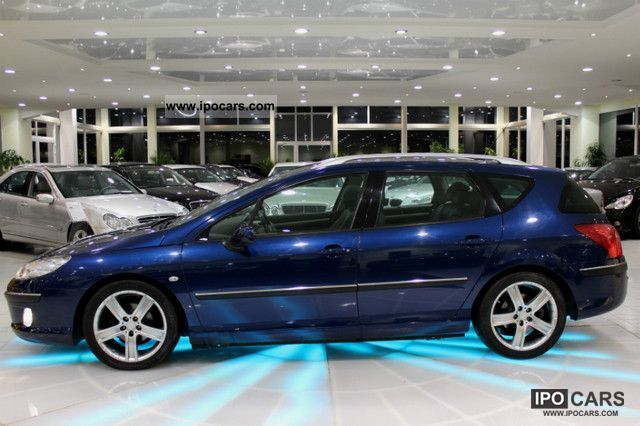 2008 Peugeot 407 Sw Sport Air Leather Navi Pdc