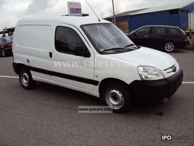 2006 peugeot partner 1 9 hdi 2 manual   car photo and specs