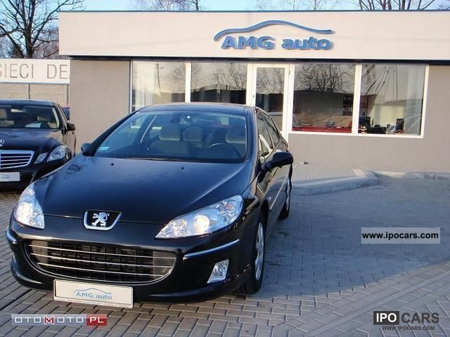 2008 peugeot 407 2 0 hdi sport car photo and specs. Black Bedroom Furniture Sets. Home Design Ideas