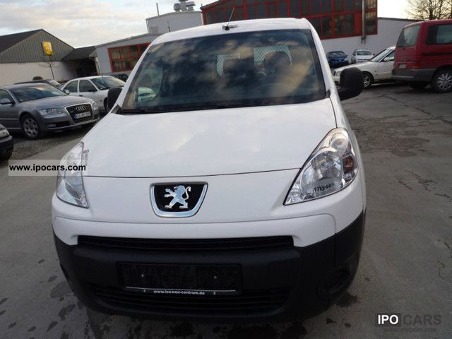 2009 Peugeot  Partner L1 1.6 HDi 90 € * 4 * 1.Hand * Van / Minibus Used vehicle photo