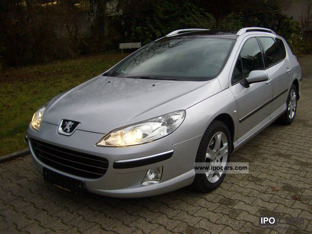 2008 Peugeot  407 SW 2.2 HDI Bi-Turbo B-Line Navi large Estate Car Used vehicle photo