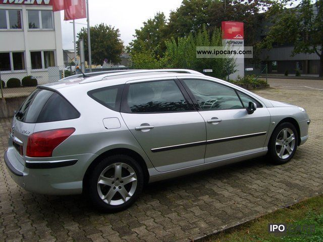 2008 peugeot 407 sw 2 2 hdi related infomation specifications weili automotive network. Black Bedroom Furniture Sets. Home Design Ideas