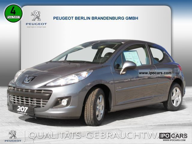 2011 peugeot 207 urban move 75 navigation car photo and specs. Black Bedroom Furniture Sets. Home Design Ideas