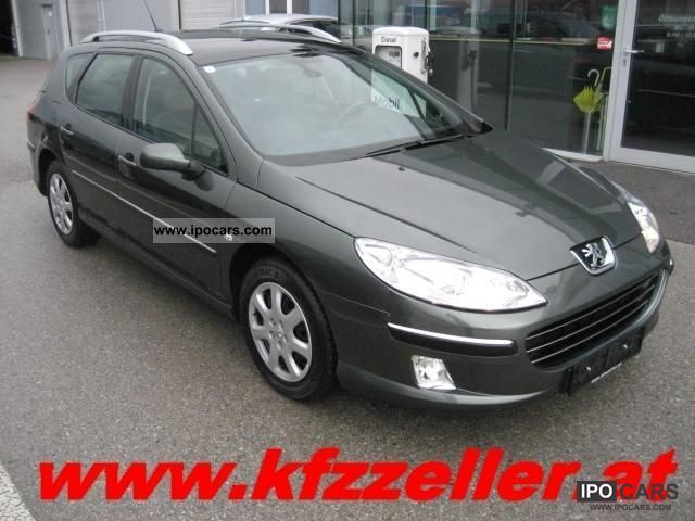 2007 peugeot 407 sw 1 6 hdi 110 premium car photo and specs. Black Bedroom Furniture Sets. Home Design Ideas