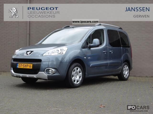 2011 peugeot partner tepee 1 6 16v vti family car photo. Black Bedroom Furniture Sets. Home Design Ideas