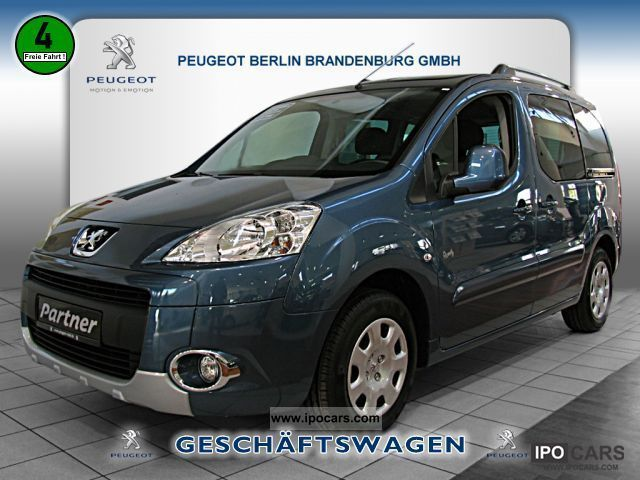 2012 Peugeot  Partner Tepee HDI FAP 110 Family PDC AIR Van / Minibus Pre-Registration photo