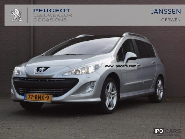 2011 peugeot 308 sw 1 6 16v vti sportium car photo and specs. Black Bedroom Furniture Sets. Home Design Ideas