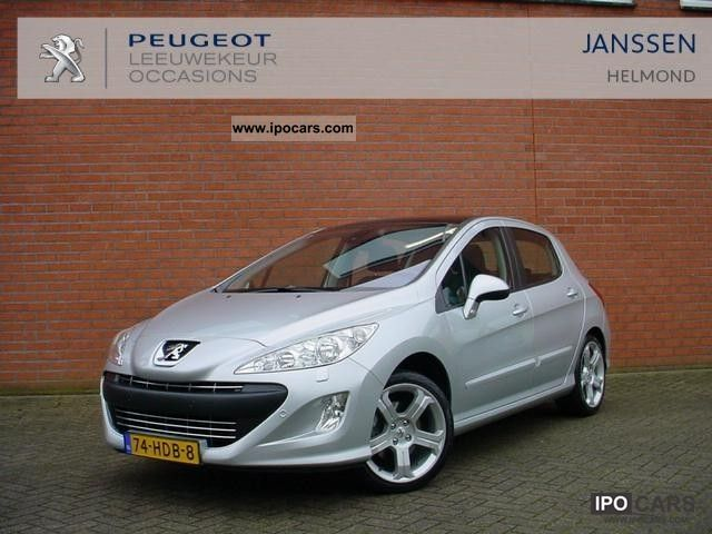 2008 peugeot 308 1 6 thp 5drs feline car photo and specs. Black Bedroom Furniture Sets. Home Design Ideas