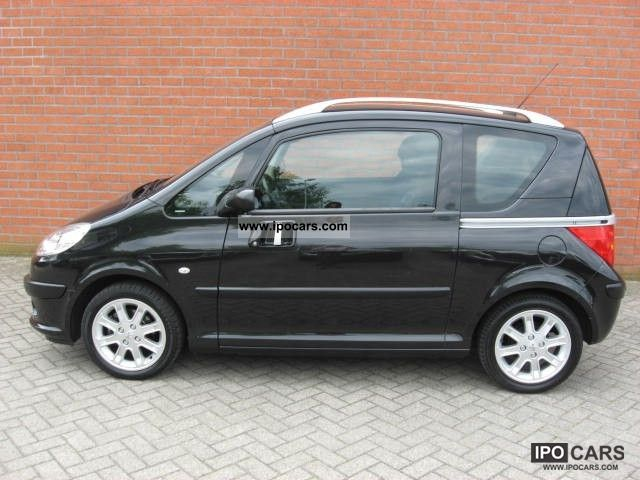 2005 peugeot 1007 1 4 gentry airco car photo and specs. Black Bedroom Furniture Sets. Home Design Ideas