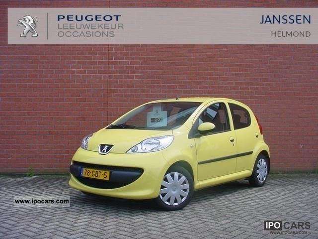 2008 Peugeot  107 1.0 12v Automaat 5drs. XS Small Car Used vehicle photo