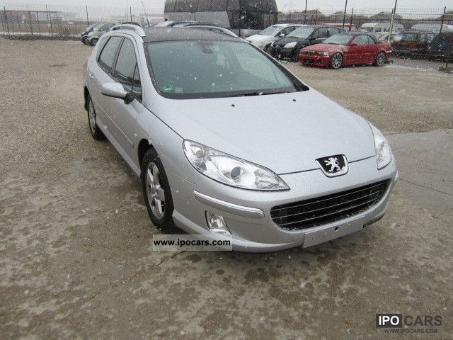 2007 peugeot 407 sw hdi 110 premium car photo and specs. Black Bedroom Furniture Sets. Home Design Ideas