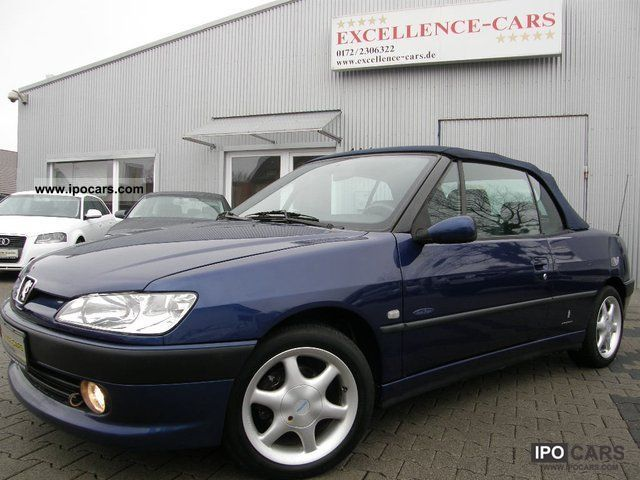 2000 peugeot 306 cabriolet 1 6 pininforina car photo and specs. Black Bedroom Furniture Sets. Home Design Ideas