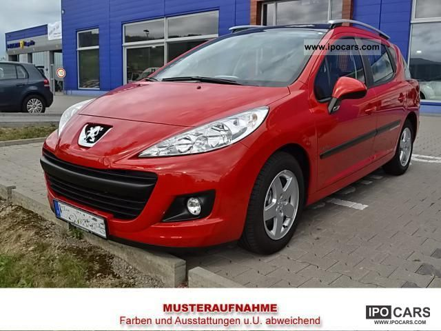 2012 peugeot 207 sw 75 tendance air car photo and specs. Black Bedroom Furniture Sets. Home Design Ideas