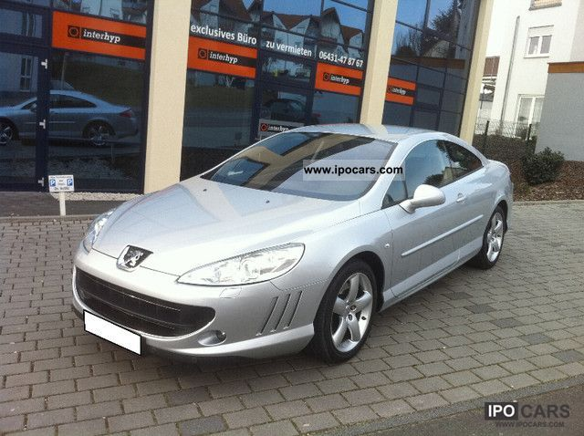 2010 Peugeot  407 Coupe V6 HDi FAP 240 Automatic Platinum Sports car/Coupe Used vehicle photo
