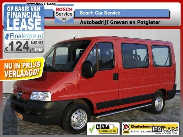 2002 Peugeot  Boxer 2.0i petrol 9 persoons Trekhaak! Met VIDE Van / Minibus Used vehicle photo