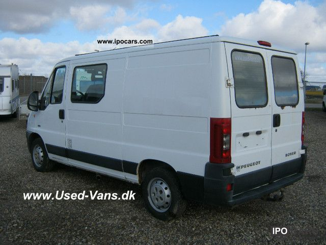 2004 peugeot boxer 2 8 hdi 3450 net car photo and specs. Black Bedroom Furniture Sets. Home Design Ideas