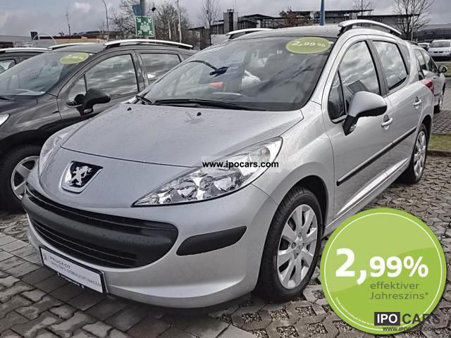 2009 peugeot 207 sw 1 6 16v hdi 110 fap no 141 car photo and specs. Black Bedroom Furniture Sets. Home Design Ideas