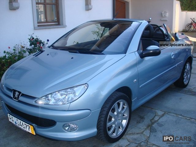 2007 peugeot 206 cc 135 platinum car photo and specs. Black Bedroom Furniture Sets. Home Design Ideas
