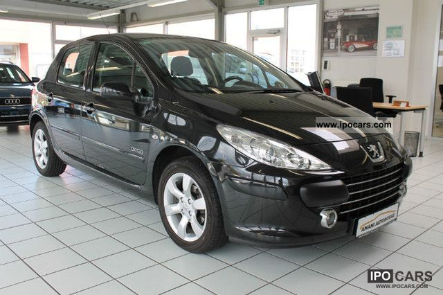 2007 Peugeot  307 1.6 16V * climate control * OXYGO 2.Hand MP3 Limousine Used vehicle photo