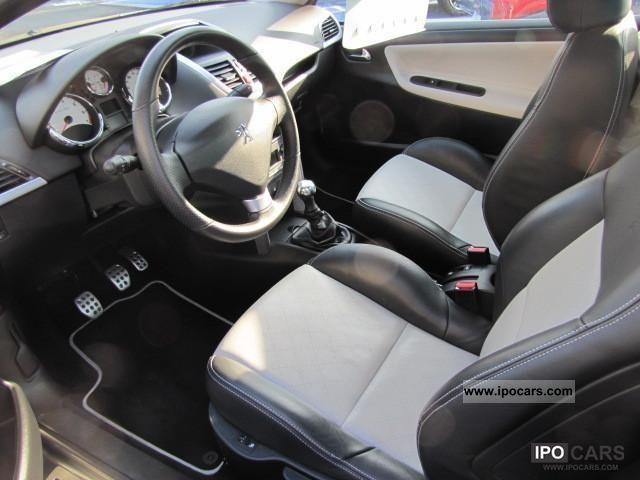 2009 peugeot cc1 6 16v120 207 roland garros car photo and specs. Black Bedroom Furniture Sets. Home Design Ideas