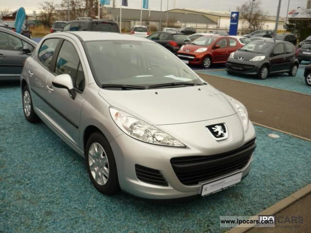 2011 peugeot 207 1 4 16v vti 95 tendance e car photo and specs. Black Bedroom Furniture Sets. Home Design Ideas