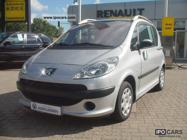 2005 peugeot 1007 hdi 70 car photo and specs. Black Bedroom Furniture Sets. Home Design Ideas
