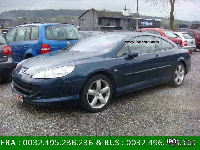 2009 Peugeot  407 Coupe 2.7 HDi 24V 204ch Sports Car Sports car/Coupe Used vehicle photo