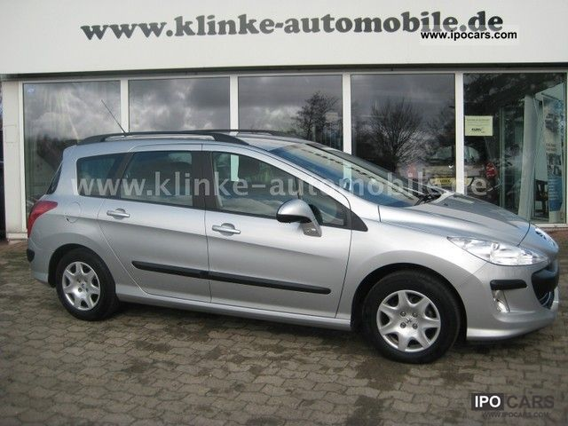 2008 peugeot 308 sw 120 vti tendance car photo and specs. Black Bedroom Furniture Sets. Home Design Ideas