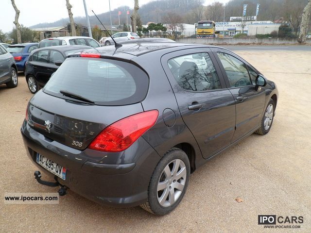 2008 peugeot 308 1 6 hdi 110 premium 5p car photo and specs. Black Bedroom Furniture Sets. Home Design Ideas