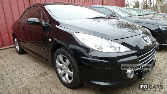 2008 peugeot 307 cc 140 jbl sport leather klimaaut alu car photo and specs. Black Bedroom Furniture Sets. Home Design Ideas