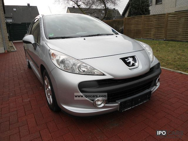 2009 peugeot 207 90 hdi fap blue lion urban move car photo and specs. Black Bedroom Furniture Sets. Home Design Ideas